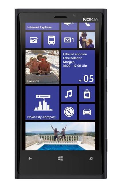 Nokia Lumia 920 ohne Vertrag, rot, schwarz, gelb oder weiss leasen u. Ratenkauf