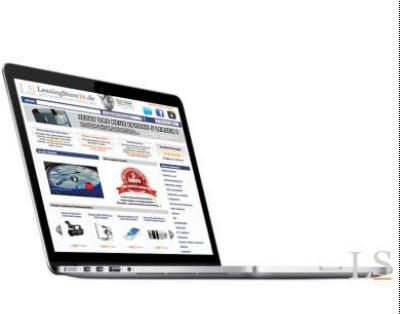Apple MacBook Pro 13 leasen, 2.6 GHz Retina Display 256 GB Flash ME662D/A als Leasing