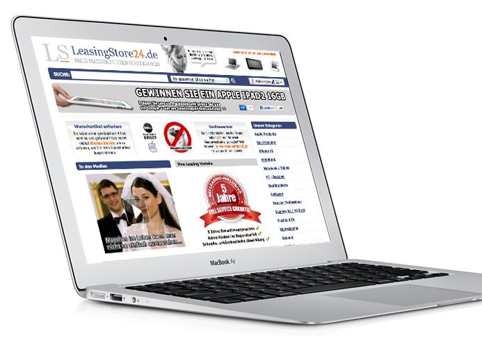 MacBook Air 13 Zoll leasen